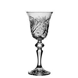 Liliom * Ólomkristály Likőrös pohár 60 ml (L11601)