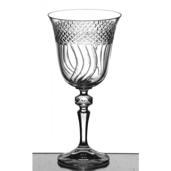 Helena * Ólomkristály Nagy boros pohár 220 ml (L12405)