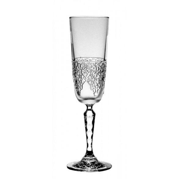 Lace * Ólomkristály Pezsgős pohár 165 ml (Su14207)
