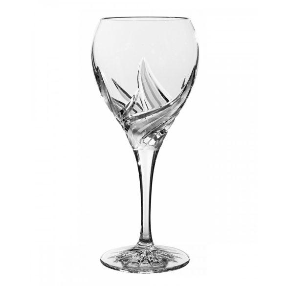 Fire * Ólomkristály Nagy boros pohár 420 ml (F14406)
