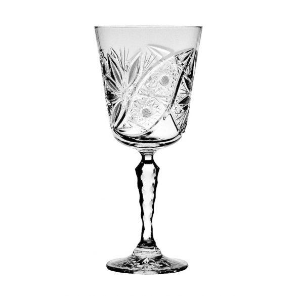 Liliom * Ólomkristály Nagy boros pohár 250 ml (Su14505)