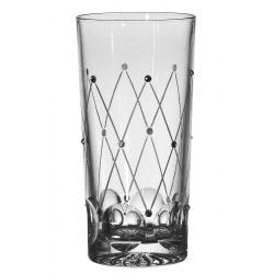 Pearl * Ólomkristály Tumbler cz pohár (15)