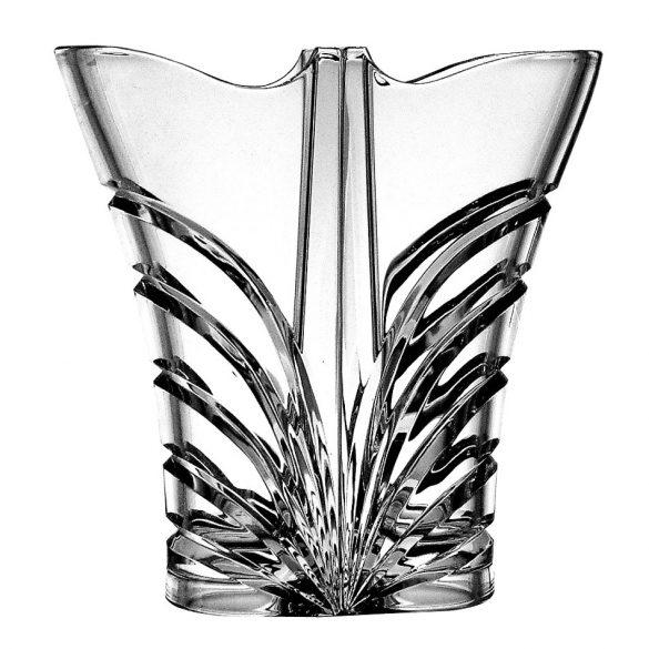 Modern * Ólomkristály Love váza 22 cm (Dupla15214)