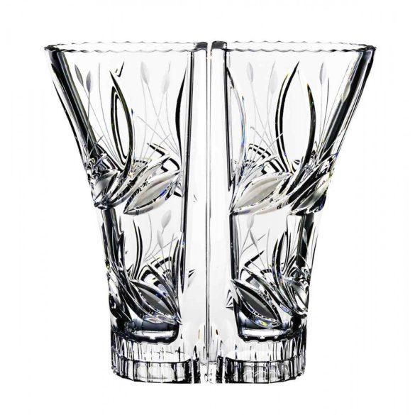 Viola * Ólomkristály Love váza 22 cm (Dupla16214)