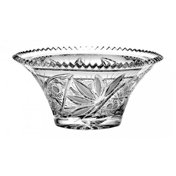 Liliom * Ólomkristály T tál 22 cm (16519)