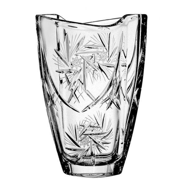 Victoria * Kristály Hordó váza 23 cm (Smi17167)