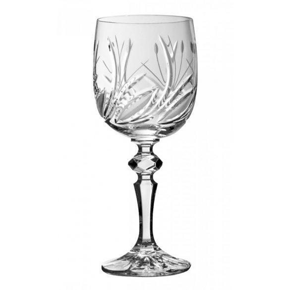 Viola * Kristály Nagy boros pohár 220 ml (M17295)