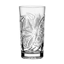 Liliom * Kristály Vizes pohár 330 ml (Tos17515)