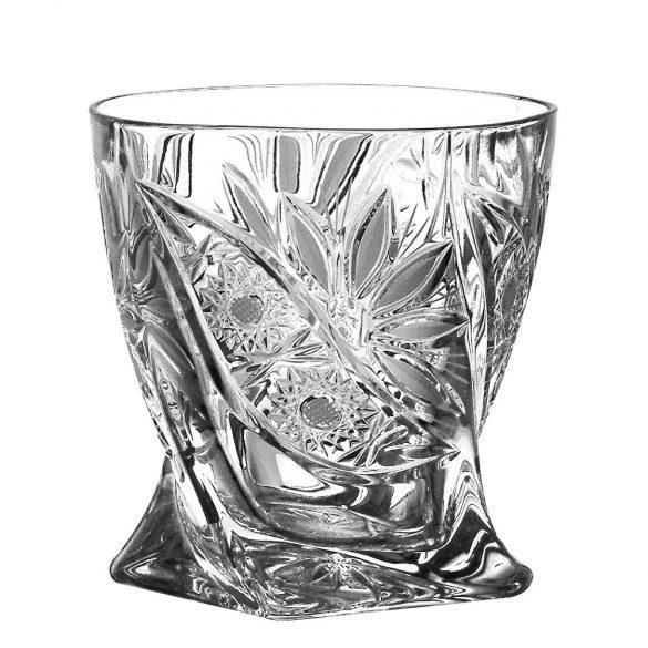 Liliom * Kristály Whiskys pohár 340 ml (Cs17517)