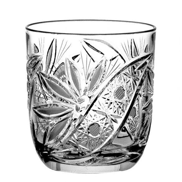 Liliom * Kristály Whiskys pohár 280 ml (Orb17524)