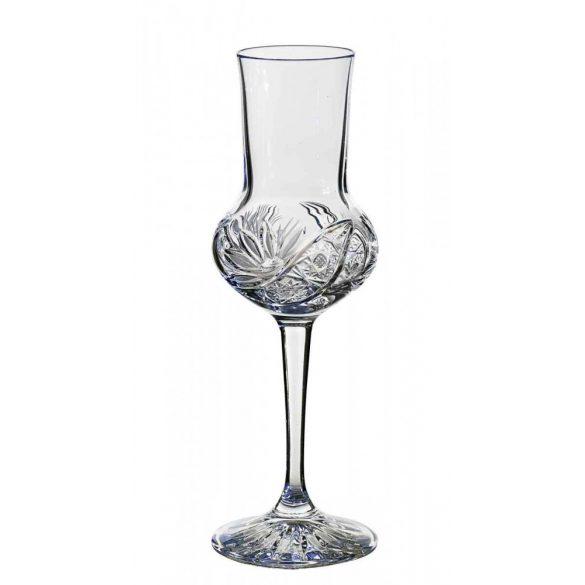 Liliom * Kristály Pálinkás pohár 81 ml (Borm17535)