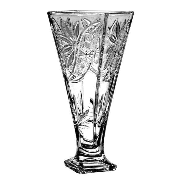 Liliom * Kristály Váza 28 cm (Cs17550)