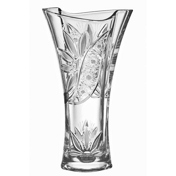 Liliom * Kristály X váza 30,5 cm (Smi17569)