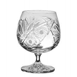 Liliom * Kristály Konyakos pohár 250 ml (L17611)