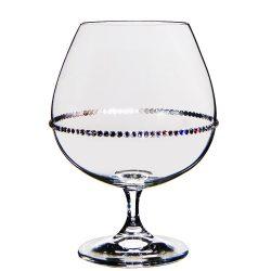 Pearl * Kristály Konyakos pohár 690 ml (GasGV17831)
