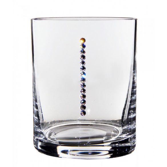 Pearl * Kristály Whiskys pohár 320 ml (GasGF17843)