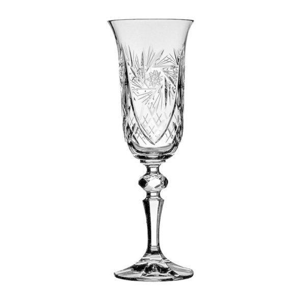 Victoria * Kristály Pezsgős pohár 150 ml (L18007)