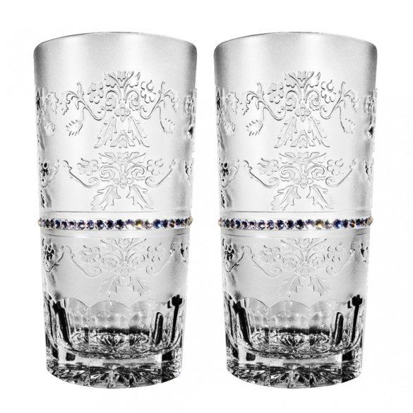 Royal * Kristály Vizes pohár készlet 2 db (Tos18935)