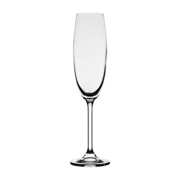 Gas * Kristály Pezsgős pohár 220 ml (39859)