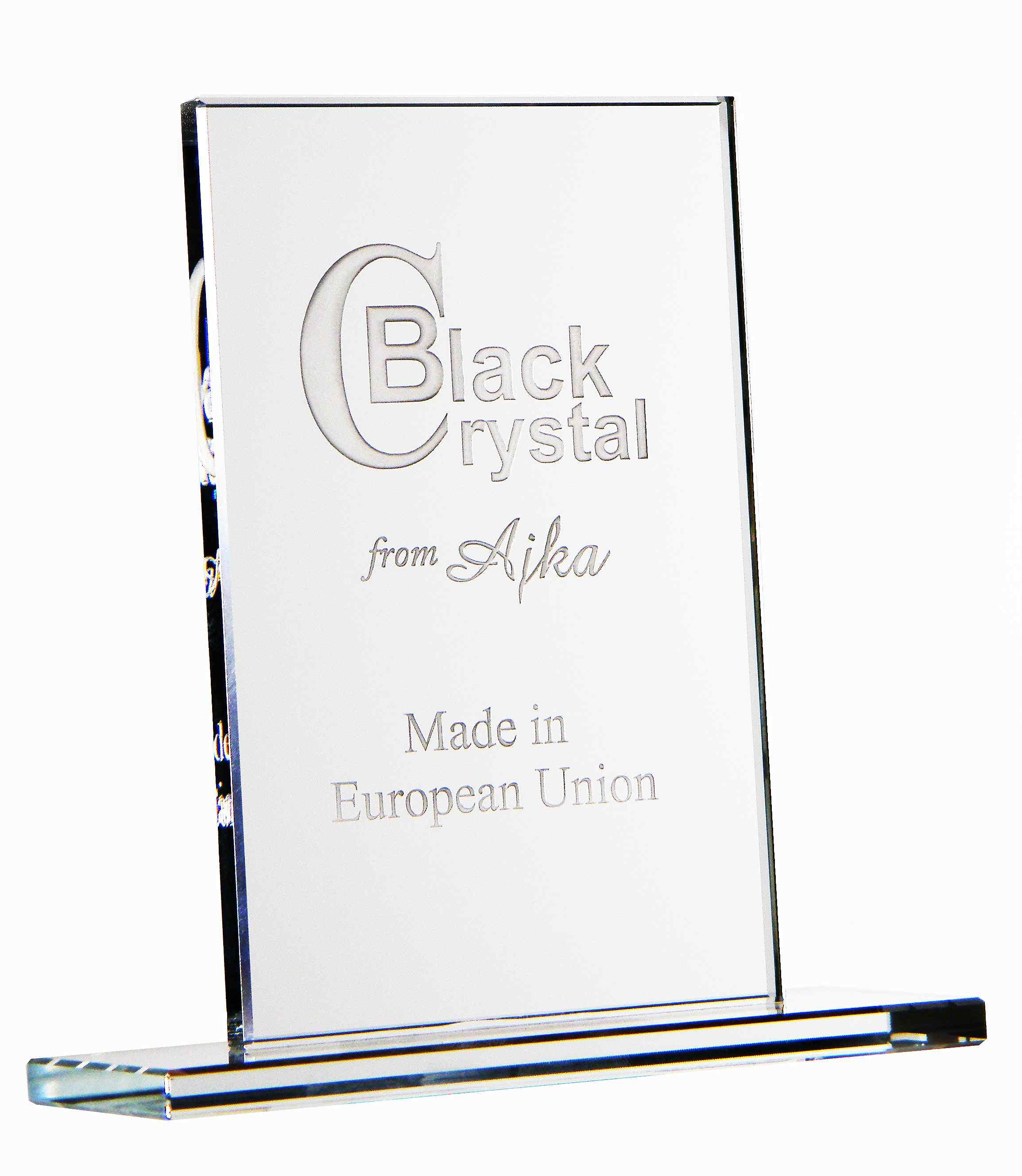 Üvegtábla felirattal
